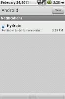 Screenshot of Hydrate