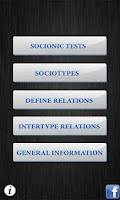 Screenshot of Socionics