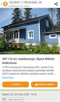 Screenshot of Oikotie Vuokrattavat Asunnot