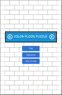 Color Flood Puzzle - screenshot