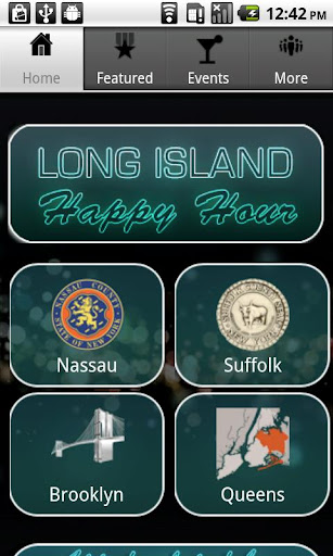 Long Island Happy Hour