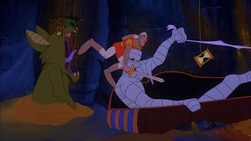 Screenshot of Dragon's Lair 2: Time Warp