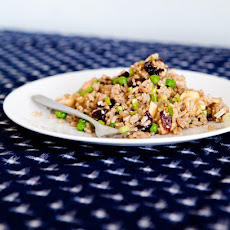 Brown Rice Salad with Apples, Walnuts, and Cherries