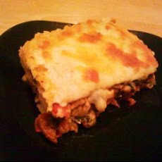 Vegetable Tortilla Lasagne