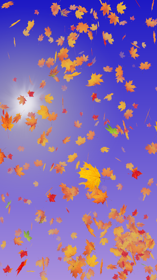 Autumn Leaves Live Wallpaper Screenshot 8