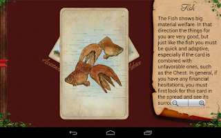 Screenshot of Tarot Madame Lenormand HD