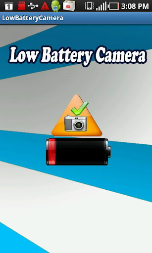 Low Battery Camera