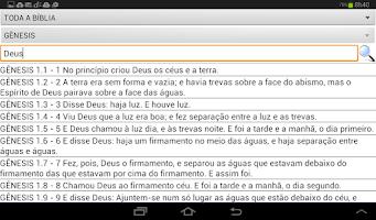 Screenshot of Bíblia Sagrada