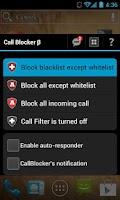Screenshot of Call Blocker