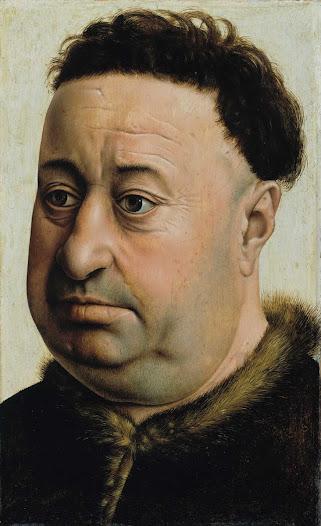 Maestro di Flemalle, ritratto d'uomo