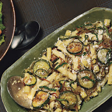 Ziti with Roasted Zucchini