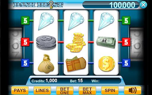 Bank Heist 3-Reel Slots