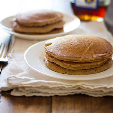 Whole Wheat Pancakes for Two