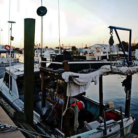 fishing boats by Jon Radtke - Transportation Boats ( fishing boats )