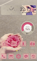 Screenshot of 당신에게 꽃을 드려요 카카오홈 테마