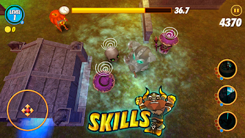 Screenshot of Shooting Pang (RPG)