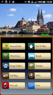 Regensburg Offline Map Guide - screenshot