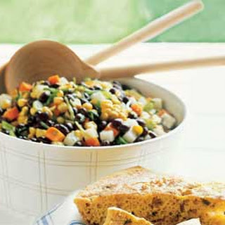 Black Bean, Jícama, and Grilled Corn Salad