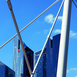 Le Grande Arche District by Helen Roberts - Buildings & Architecture Office Buildings & Hotels