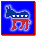 Democrat Clock Widget icon