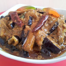 Eggplant Curry (Sri Lankan Style)