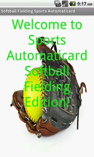 SBall Fielding Card Free