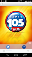 Screenshot of FM 105/JARAGUA DO SUL/SC