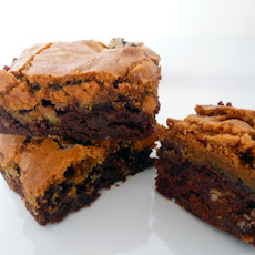 Chocolate Chip Cookie-Topped Brownies