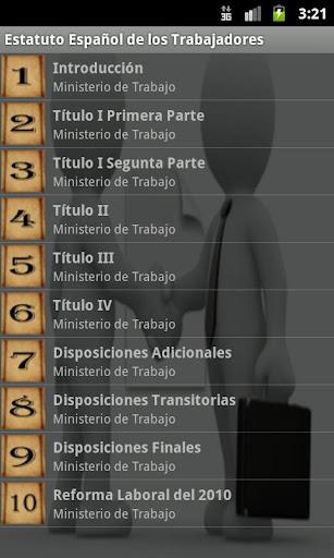Estatuto Trabajadores España