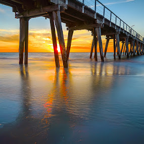 Largs Bay Jetty by Zdenka Rosecka - Buildings & Architecture Bridges & Suspended Structures