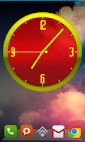 Screenshot of ClockWurkx Analog Clock Widget