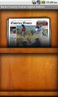 Screenshot of Bucks County Courier Times