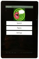Screenshot of EZ Speech PRO