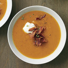 Smoky-Spicy Sweet Potato Soup