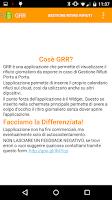 Screenshot of Gestione Ritiro Rifiuti - GRR