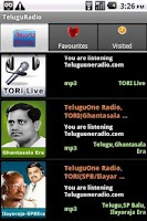 Screenshot of Telugu Radio