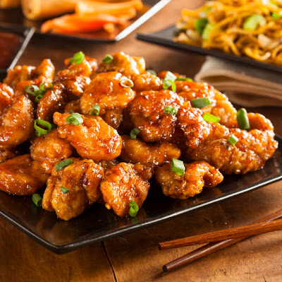 Low-Sugar Orange Chicken