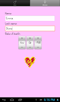 Screenshot of Love % - Compatibility Test
