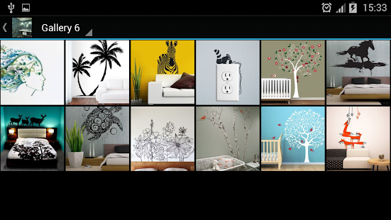 App wall stickers decorations apk for kindle fire for Homestyler old version