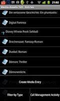 Screenshot of Media Assets