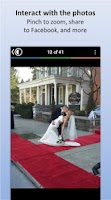 Screenshot of CapsuleCam - Wedding Photo App