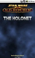 Screenshot of SWTOR Holonet