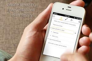 Screenshot of deck slideshow presentations