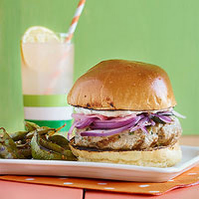Fancy Burger, Hold the Fries: Tuna Burgers with Spicy Edamame
