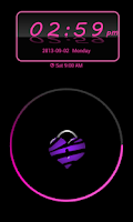 Screenshot of Pink Zebra Theme 4 GO Locker