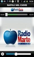 Screenshot of Radio Marte Stereo