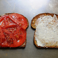 My Best Tomato Sandwich