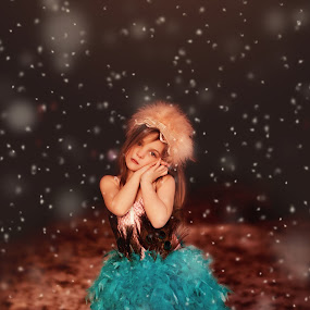 Winters Princess by Leigh Frudiger-Vanderland - Babies & Children Child Portraits