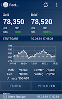 Screenshot of Börse Stuttgart
