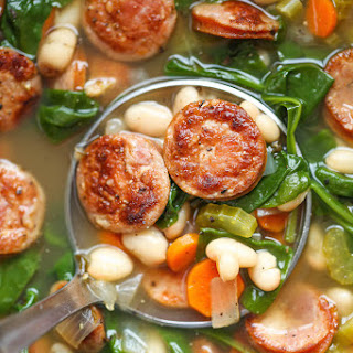 White Bean And Andouille Sausage Soup Recipes